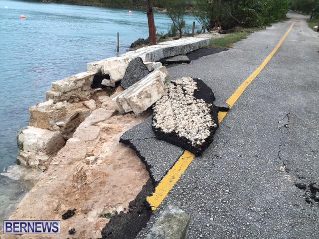 Hurricane Nicole Aftermath Bermuda October 13 2016 2