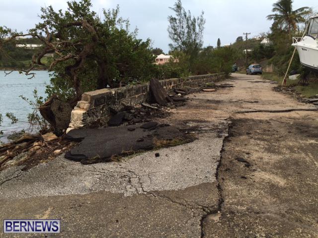 Hurricane Nicole Aftermath Bermuda October 13 2016 3