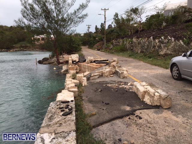 Hurricane Nicole Aftermath Bermuda October 13 2016
