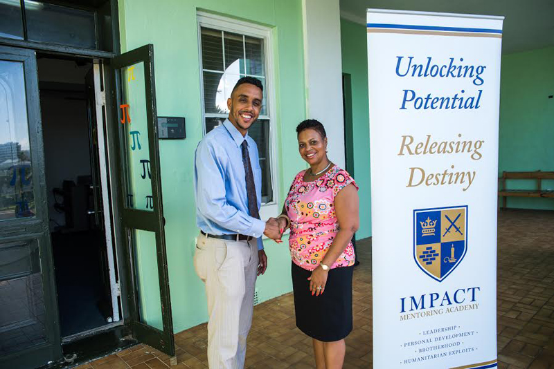 Impact Mentoring Donation Bermuda October 2016