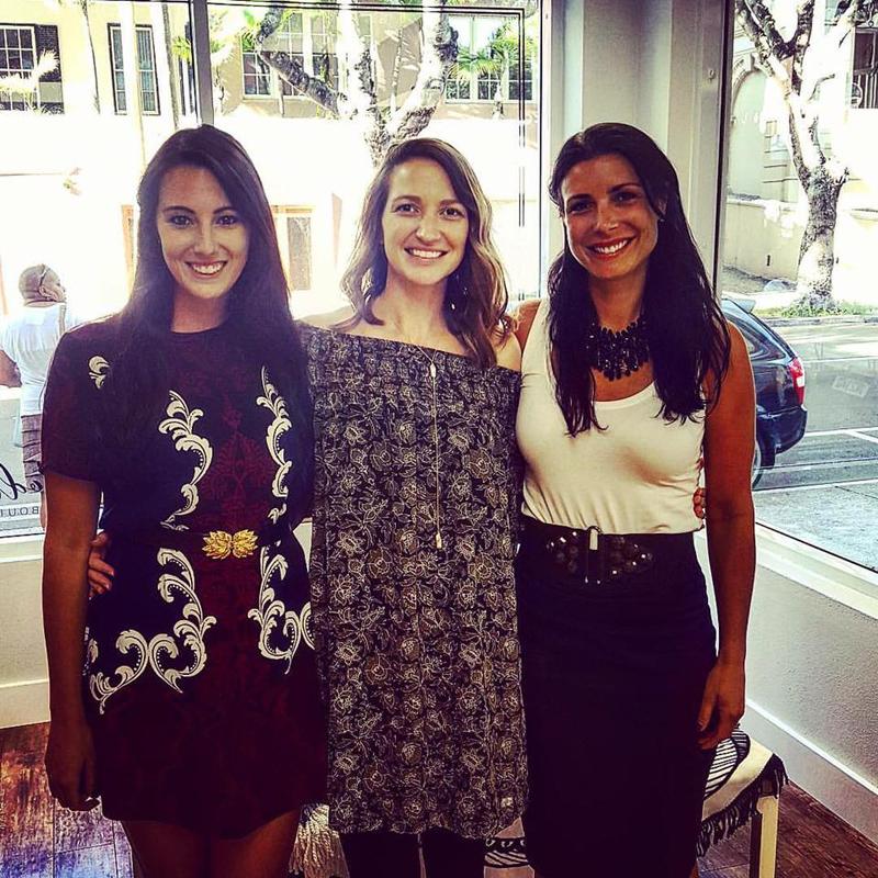 Kristen Carreiro and Rego Realty Girls Bermuda October 2 2016