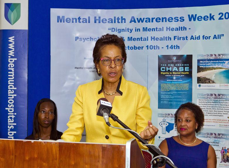Mental Health Awareness Bermuda October 10 2016 1