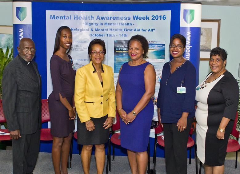 Mental Health Awareness Bermuda October 10 2016 2