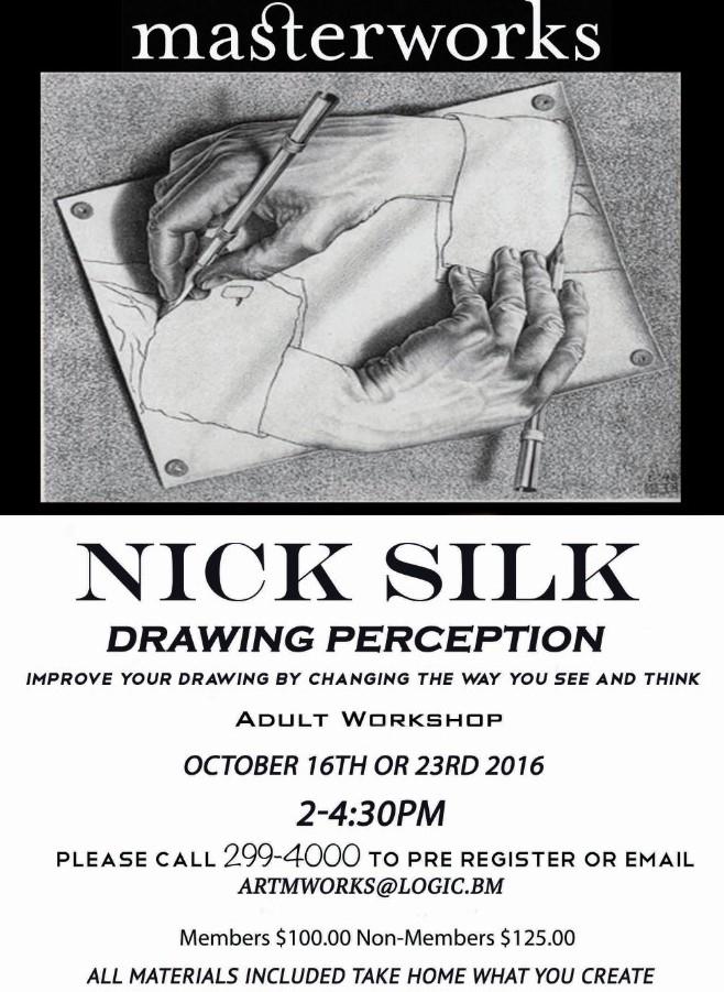 Nick Silk Workshop Bermuda October 6 2016