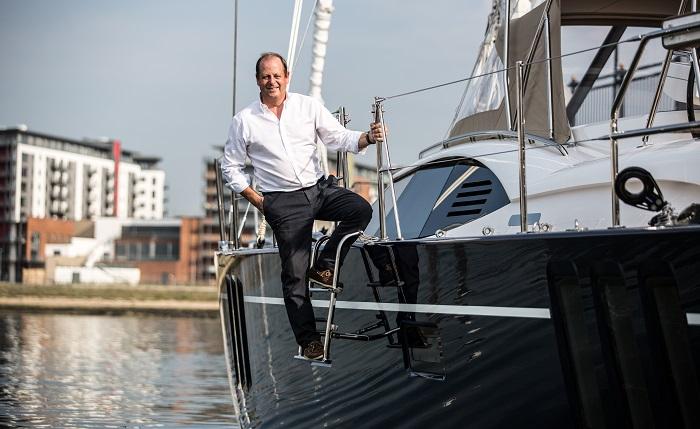 David Tydeman, CEO of Oyster Yachts.