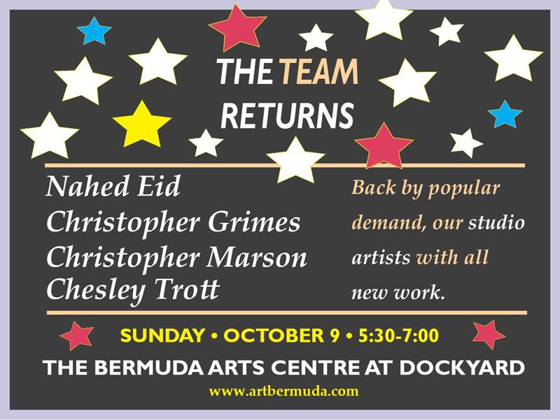 The Team Return Bermuda October 2 2016