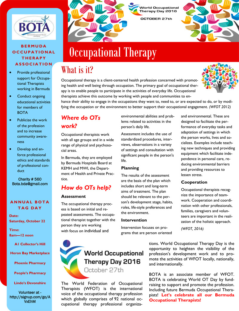 World OT Day Promotion Article 2016