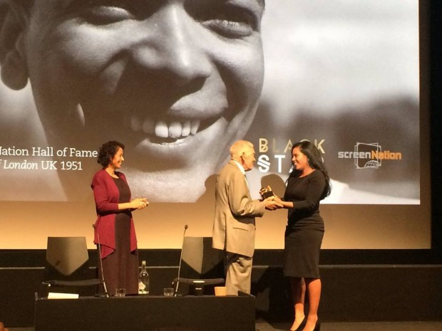 earl cameron being honoured 2016 (1)