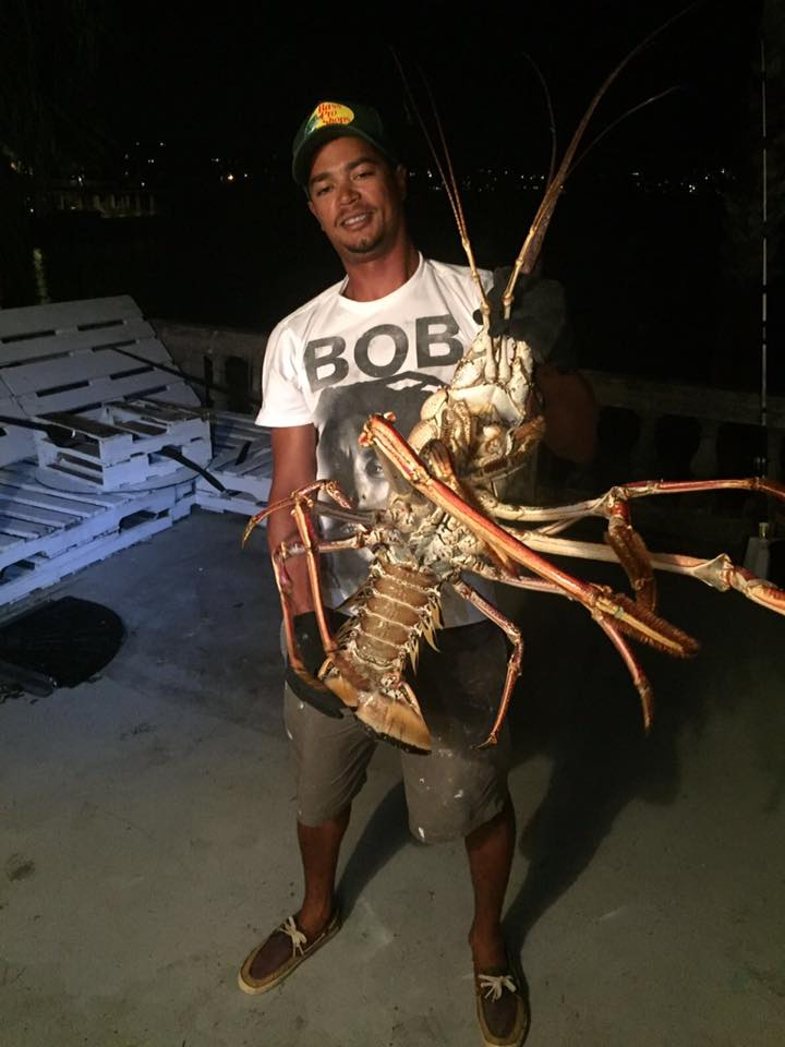 giant lobster caught after nicole photo by Tristan Loescher  (2)