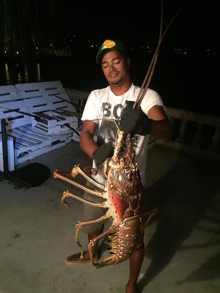 giant lobster caught after nicole photo by Tristan Loescher  (3)