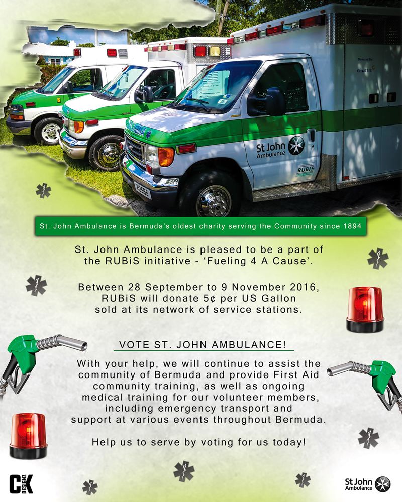 st john Fuel for a cause October 2016