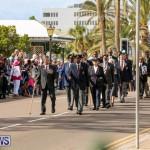 Bermuda Remembrance Day Ceremony, November 11 2016-17
