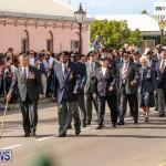 Bermuda Remembrance Day Ceremony, November 11 2016-21