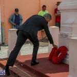 Bermuda Remembrance Day Ceremony, November 13 2016-21