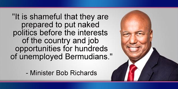 Bob Richards Bermuda November 29 2016