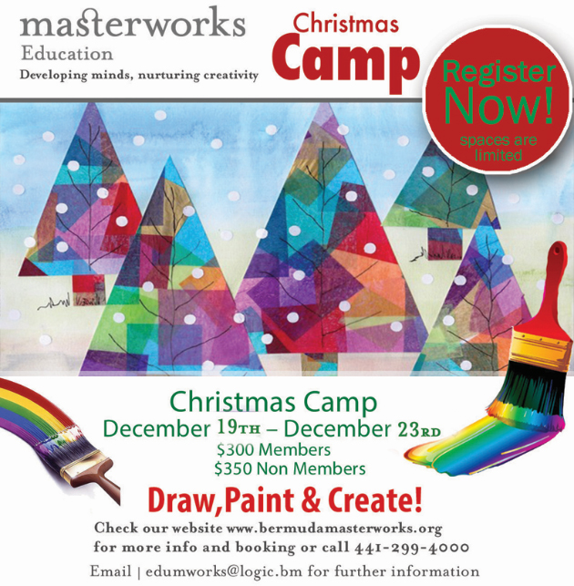Christmas Camp Bermuda Nov 2016