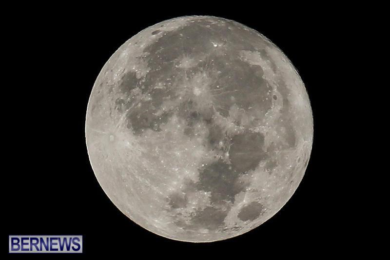 Full Moon Supermoon Bermuda, November 14 2016-2