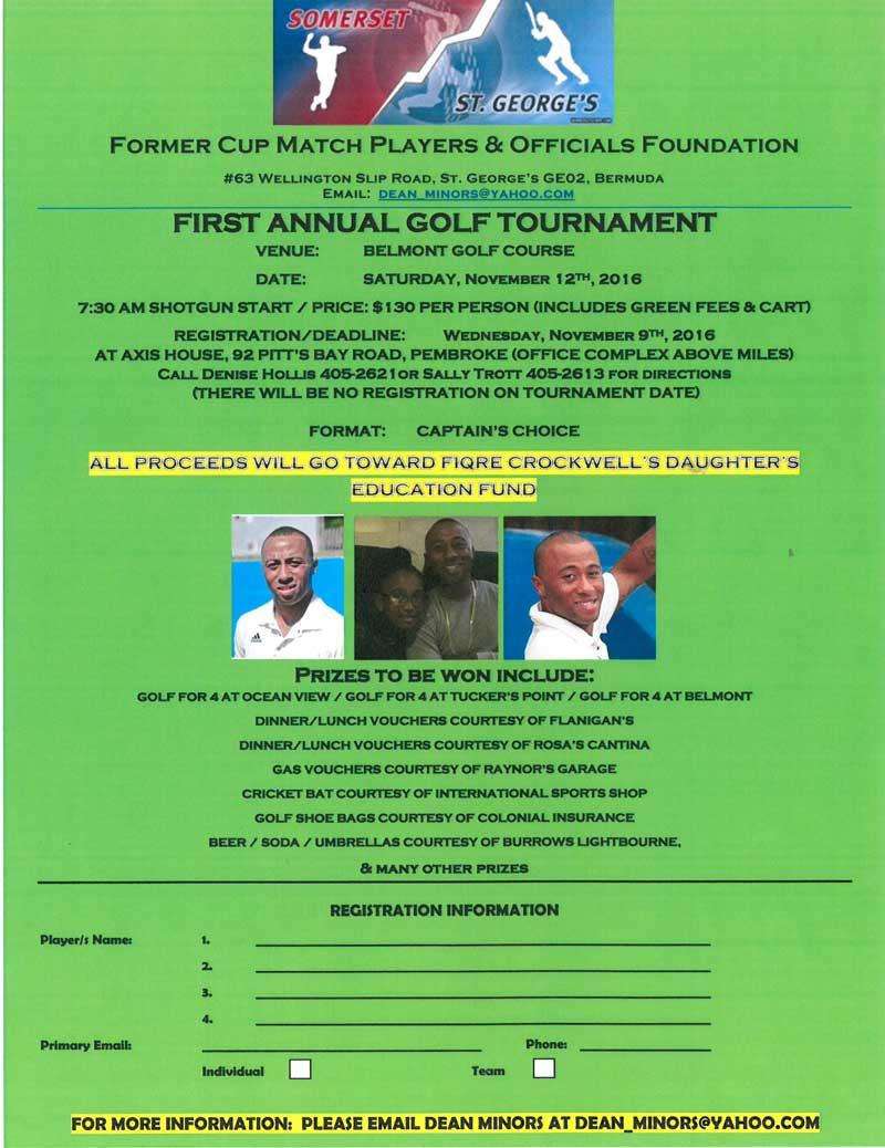 Golf Tournament Flyer 01
