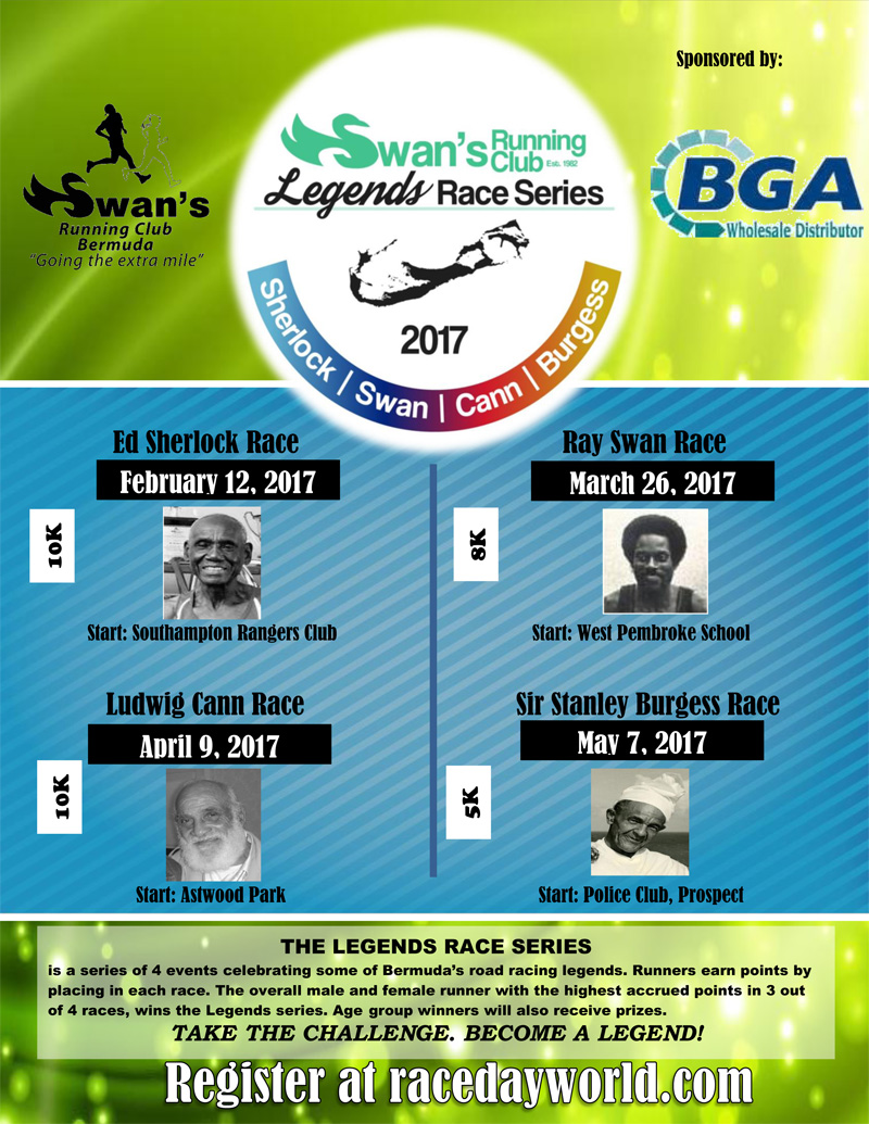Legends Race series Bermuda Nov 2016