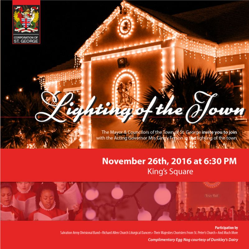 Lighting of the Town 2016