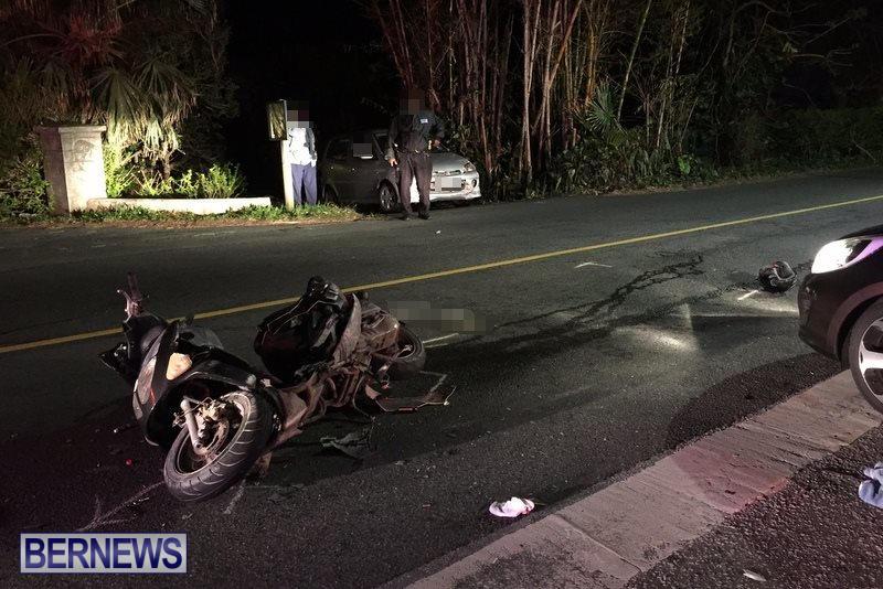 Montpelier Road Collision Bermuda, November 15 2016 (3)