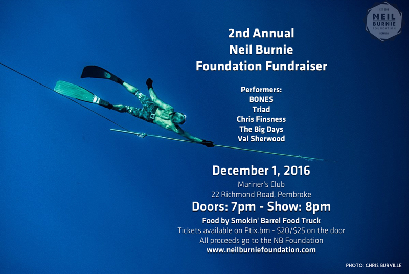 Neil Burnie Foundation Bermuda November 2016