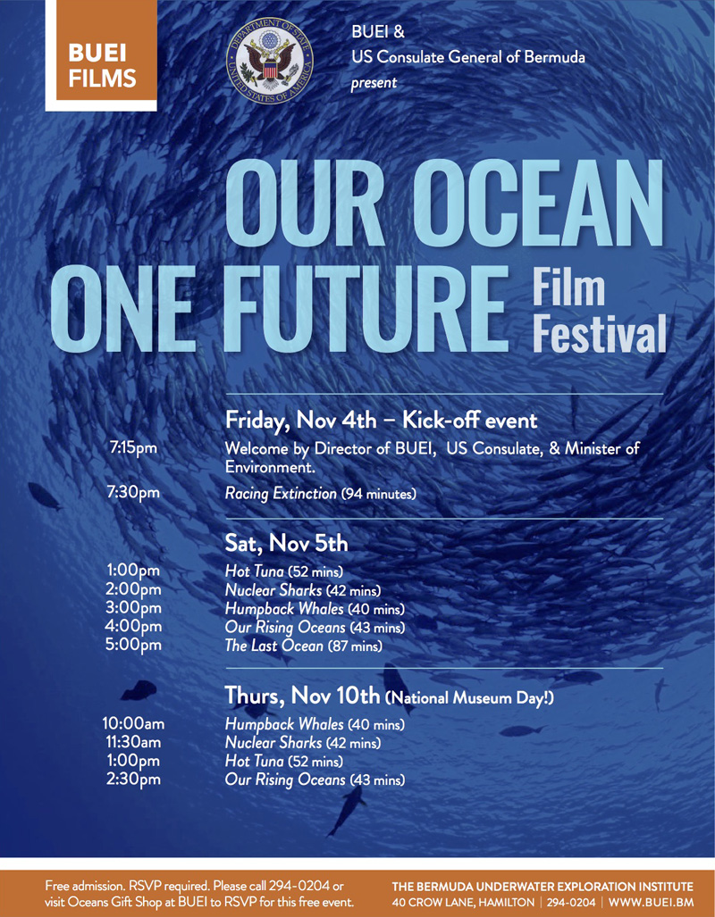 Our Ocean One Future Bermuda Nov 2016