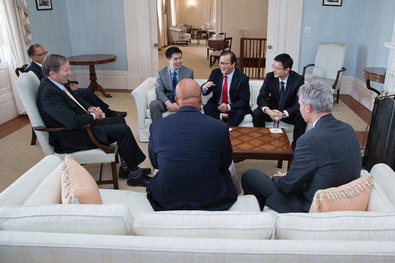 Premier - Chinese Consulate delegation (3)