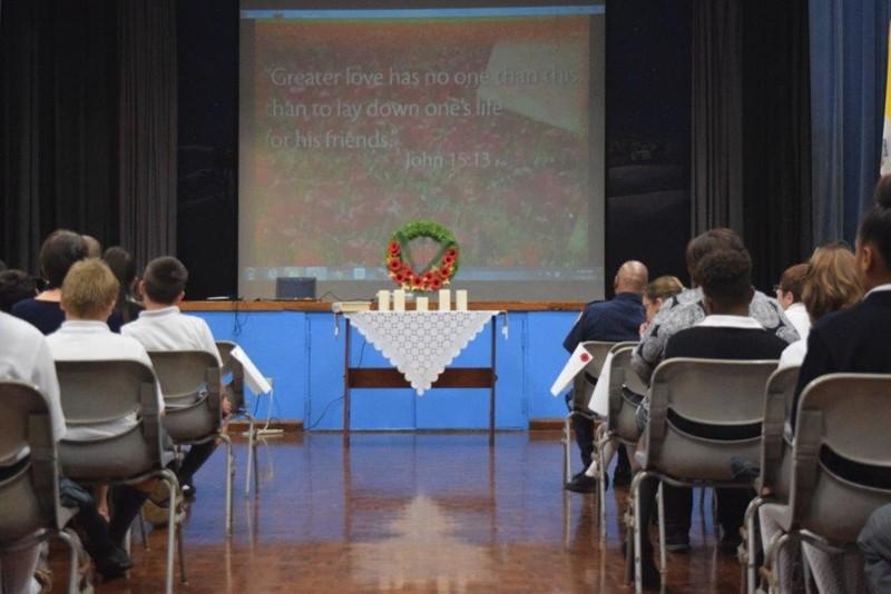 Remembrance Day Prayer Service 004