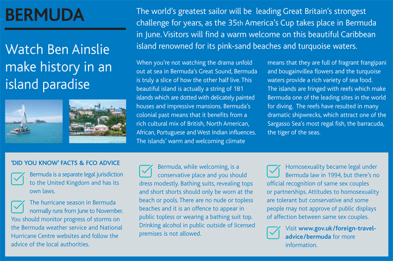 ABTA Travel Trends Report Bermuda December 2016