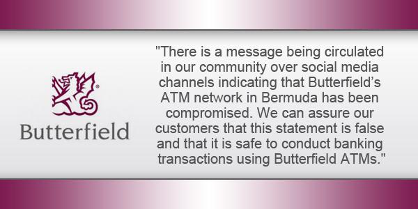 Bank Butterfield Bermuda TC December 30 2016
