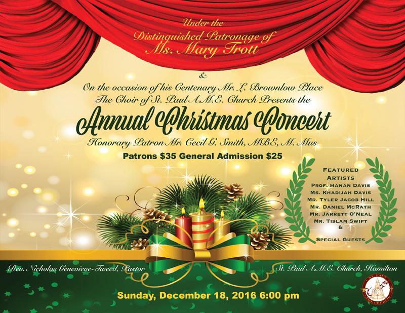 Christmas Bermuda December 2016