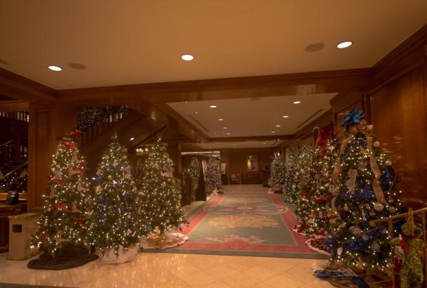 Christmas at Fairmont Southampton Bermuda Dec 6 2017 (2)