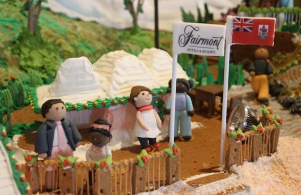 Christmas at Fairmont Southampton Bermuda Dec 6 2017 (4)