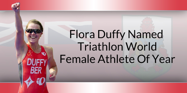Flora Duffy Bermuda Athlete of year