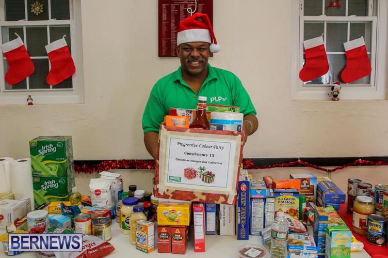 PLP Constituency 15 Christmas Hamper Drive Bermuda, December 17 2016-5