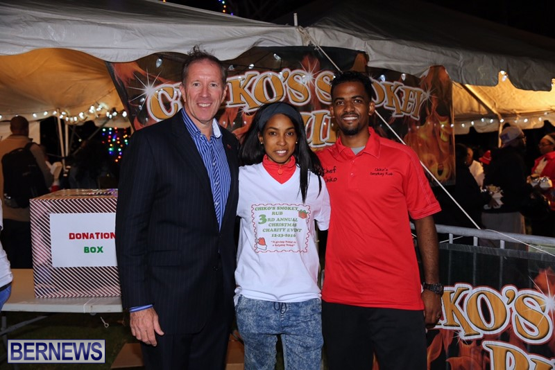 Premier with Chef Chico and wife
