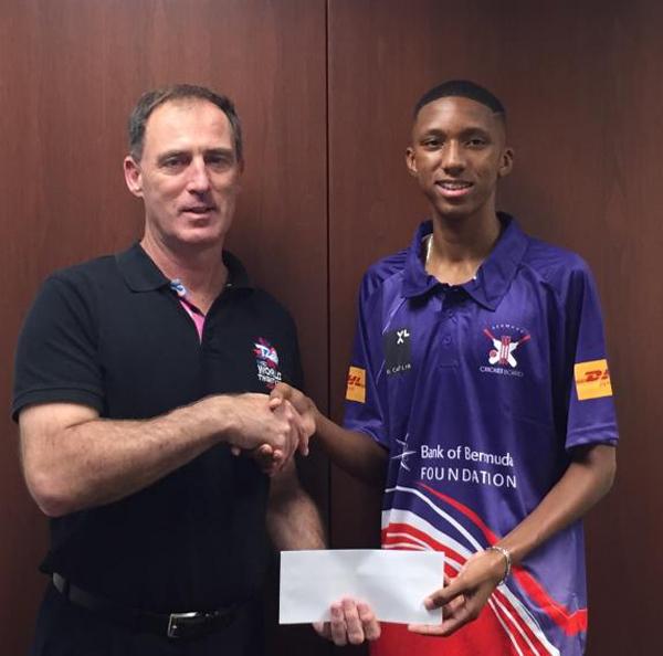 Sancho Jackson Bermuda December 2016