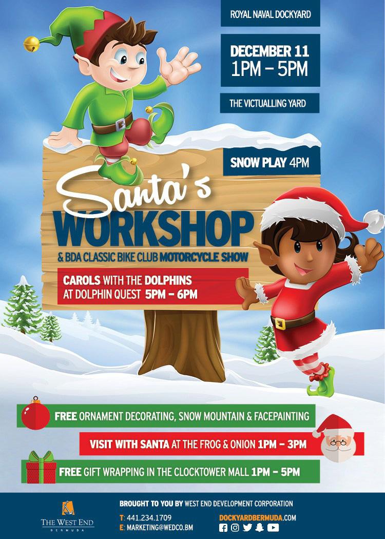 Santas Workshop Bermuda December 2016