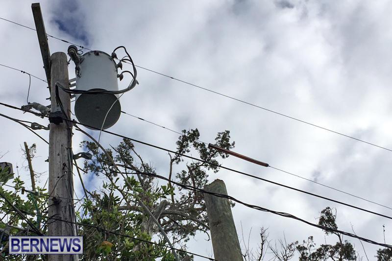 Utility Pole Fire Bermuda, December 17 2016-5