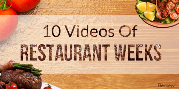 10 Videos of Restaurant Weeks TC 2