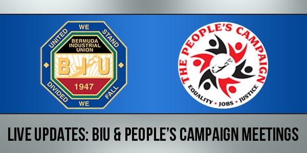 BIU & People's Campaign Meetings TC 3a
