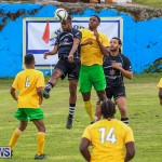 Football Devonshire Cougars vs PHC Bermuda, January 1 2017-12