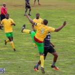 Football Devonshire Cougars vs PHC Bermuda, January 1 2017-17