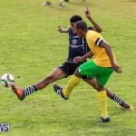 Football Devonshire Cougars vs PHC Bermuda, January 1 2017-27