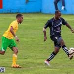 Football Devonshire Cougars vs PHC Bermuda, January 1 2017-40