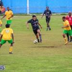 Football Devonshire Cougars vs PHC Bermuda, January 1 2017-43
