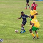 Football Devonshire Cougars vs PHC Bermuda, January 1 2017-45
