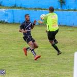 Football Devonshire Cougars vs PHC Bermuda, January 1 2017-47