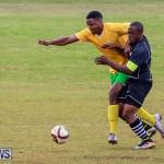 Football Devonshire Cougars vs PHC Bermuda, January 1 2017-54